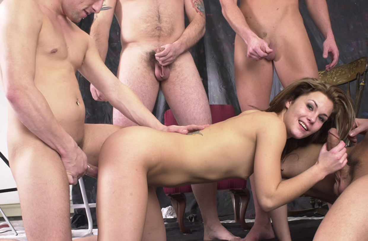 was ist gang bang party muschi von innen